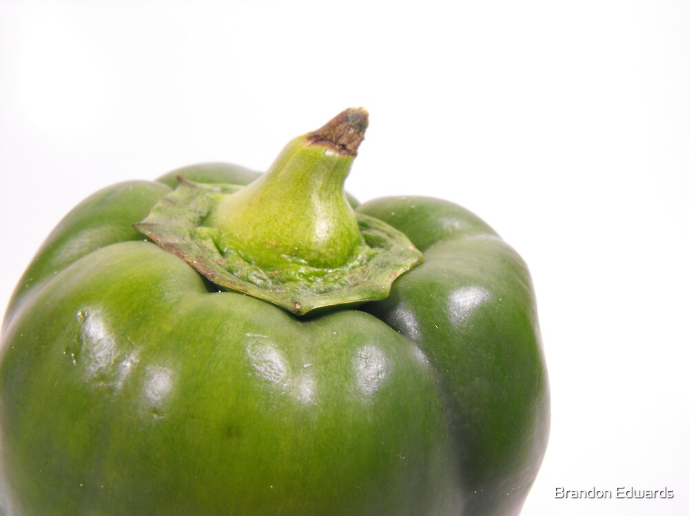 Green Pepper Top by Brandon Edwards