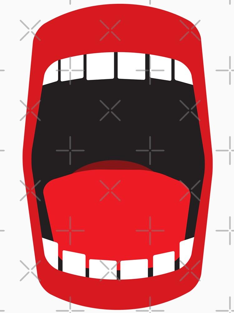 big open mouth   by kislev