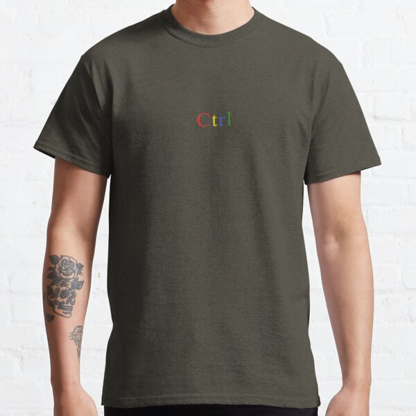 Sza Ctrl Logo Classic T-Shirt