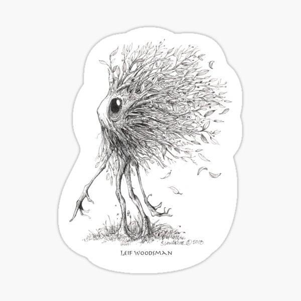 Leif Woodsman, Forest Dweller Sticker