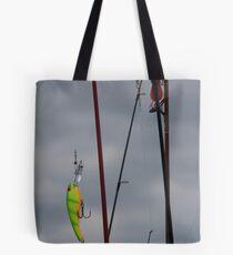 Reel Rods Tote Bag