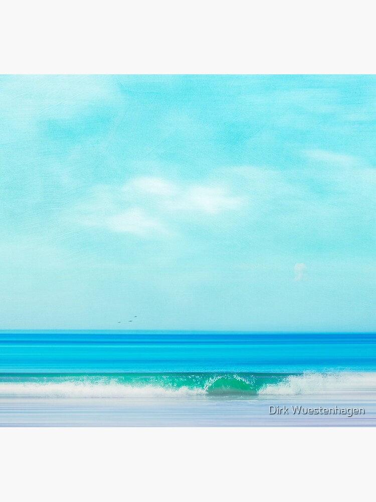 Green Wave - Abstract seascape by DyrkWyst