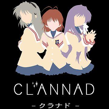 CLANNAD - Nagisa, Kyou & Tomoyo by MegurineMariko