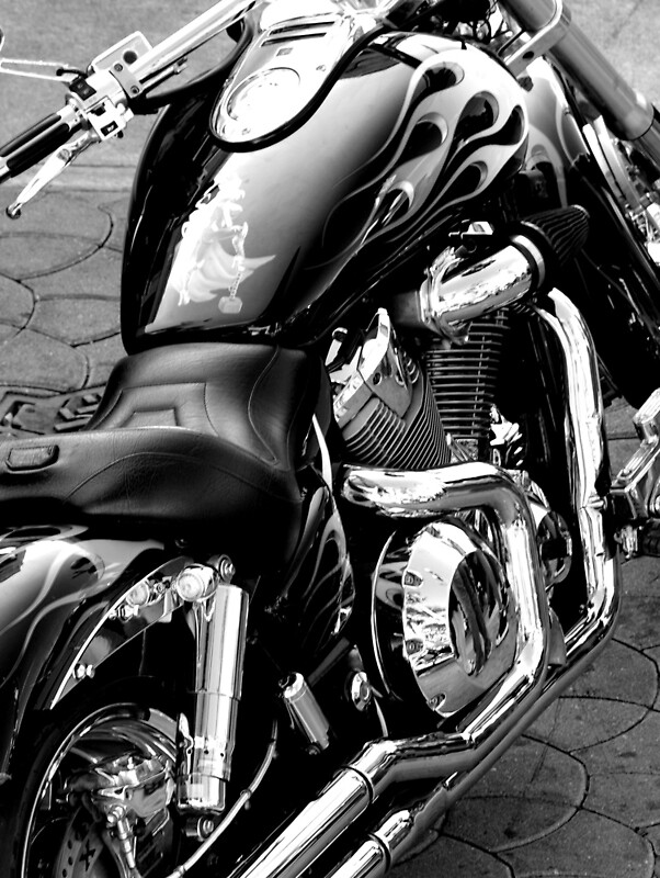 Quot Harley Davidson Black And White Quot Posters By Goodieg