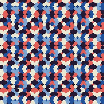 Retro vintage design pattern 60s 70s by PCollection