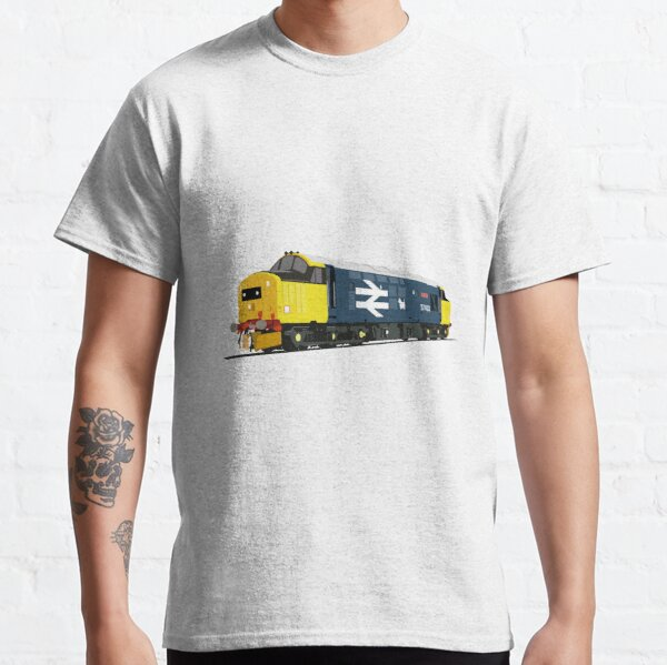 Class 37 locomotive large logo Classic T-Shirt