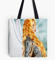 Armored Guardian: Colored Version Tote Bag