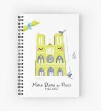 Notre Dame de Paris Cahier à spirale