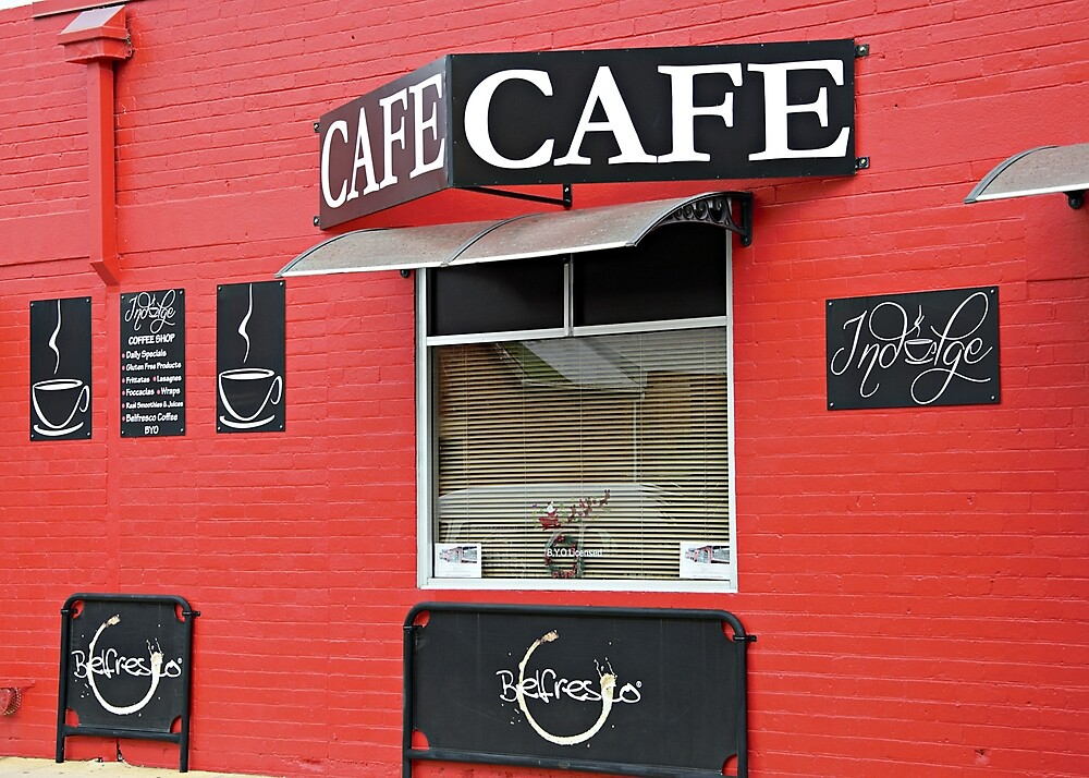 Minimal cafe by Kerry LeBoutillier