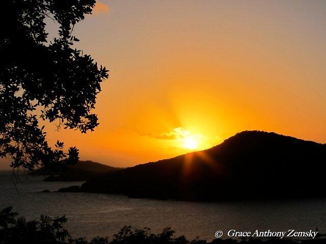 Virgin Sunset by Grace Anthony Zemsky