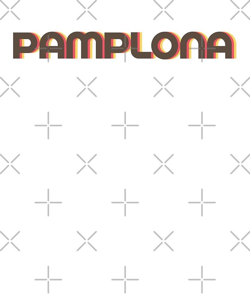 Retro Pamplona T-Shirt by designkitsch