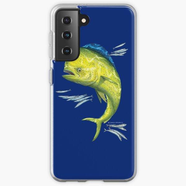 Mahi Mahi and baitfish Samsung Galaxy Soft Case