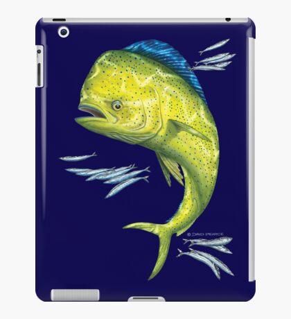 Mahi Mahi and baitfish iPad Case/Skin