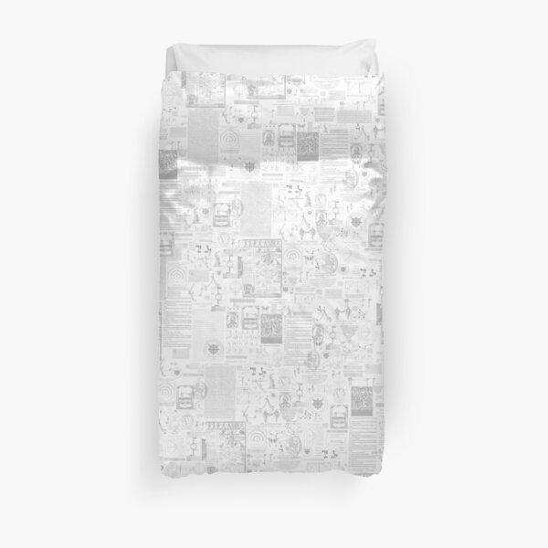 BSIS LVD Collage - white Duvet Cover