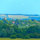 In The Distance - Guilden Morden in Cambridgeshire by Paul Dominic Gray