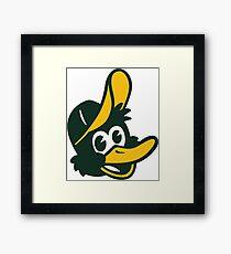 Duck! Framed Print