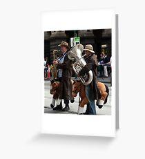 horsemen Greeting Card