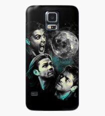 Das Bergteam Free Will Moon - übernatürliche Ausgabe Hülle & Klebefolie für Samsung Galaxy