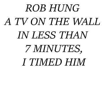 Rob Hung A TV On The Wall In Less Than 7 Minutes, I Timed Him - Scheana Shay VPR Vanderpump Rules Rob by cl0thespin