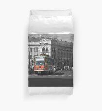 Tram 28 Cluj Duvet Cover