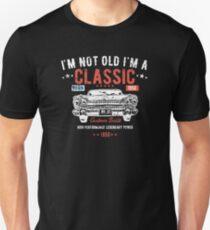 69th Birthday Distressed Design - Im Not Old Im A Classic Custom Built 1950 Slim Fit T-Shirt