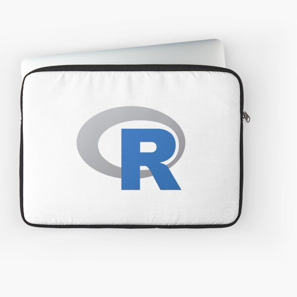 R Language Logo Laptop Sleeve