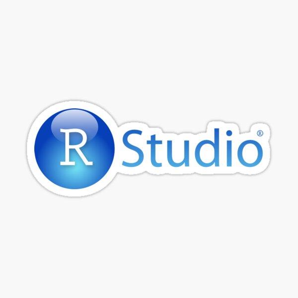 RStudio Logo Pegatina