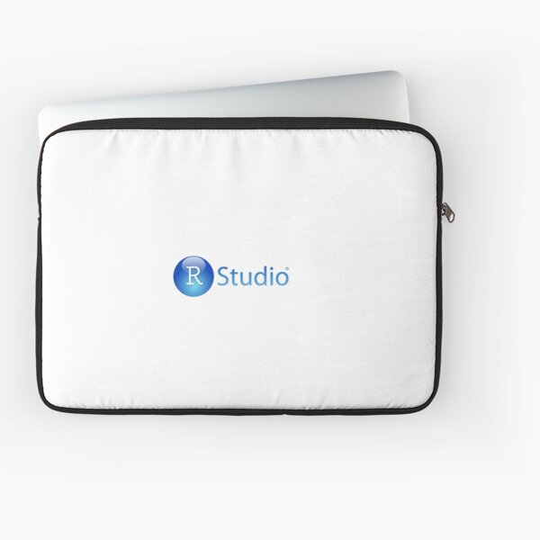 RStudio Logo Laptop Sleeve