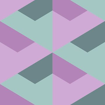 Geometric Pattern: Stealth: Succulent by redwolfoz