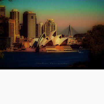 'Sydney At Dusk' Tee by StarKatz