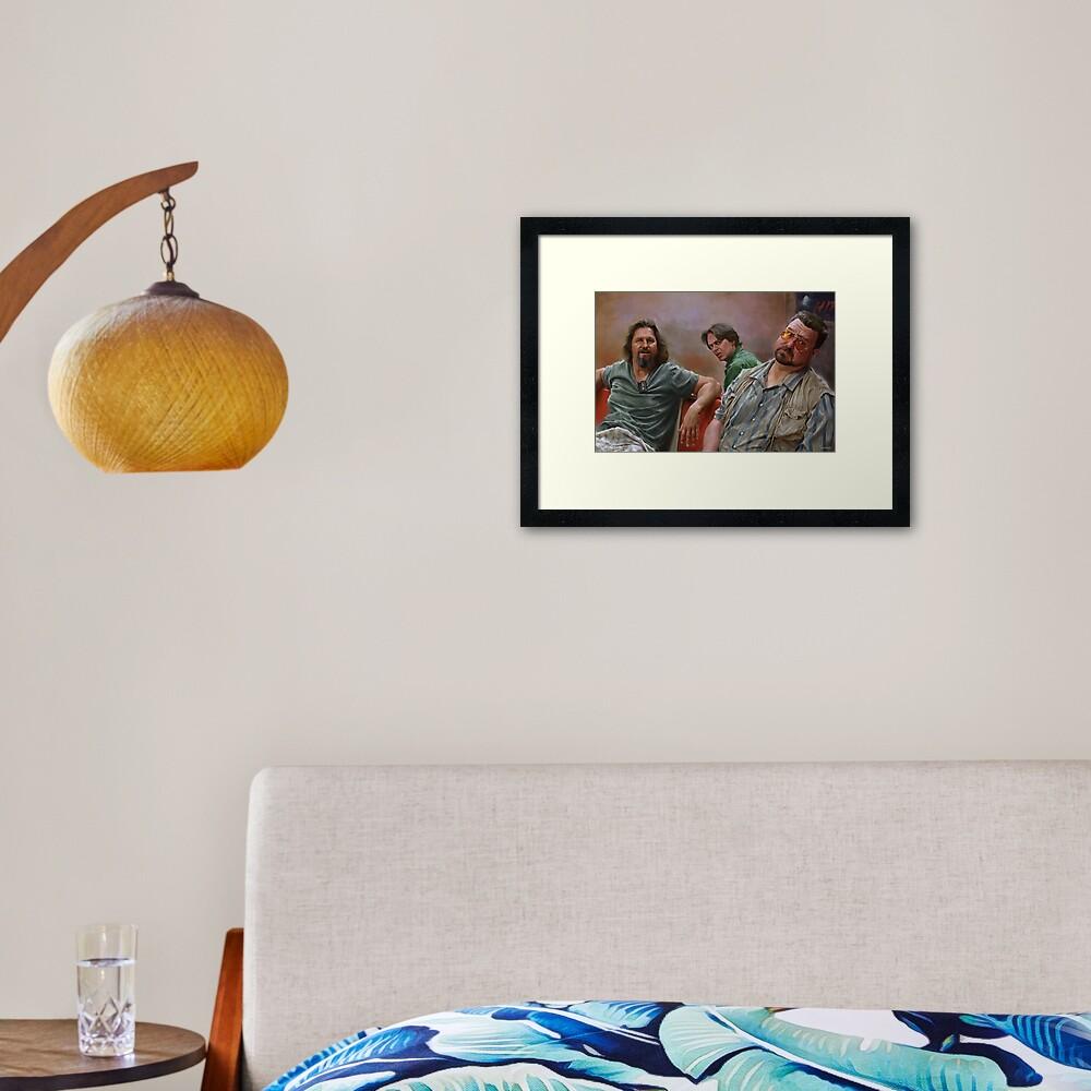 Big Lebowski Framed Art Print