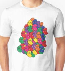 Happy Kawaii Jellybeans Unisex T-Shirt