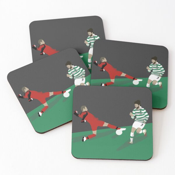 Samaras Scores At Ibrox Coasters (Set of 4)