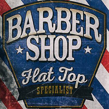 Vintage barber shop by benbdprod