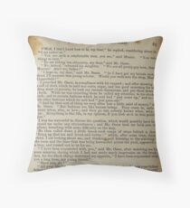 David Copperfield by Dickens Throw Pillow