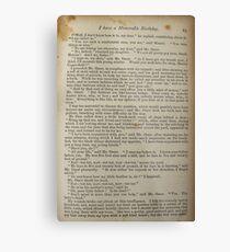 David Copperfield by Dickens Metal Print