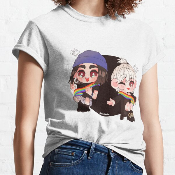 Alba y Natalia LGBTQ Queens Camiseta clásica