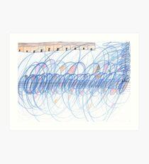Electro Magnetic Fields Art Print