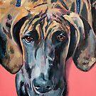 Great Dane by Julie Ann Accornero