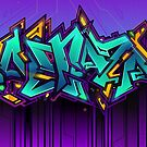 Baltazar graffiti by Rangi Matthews