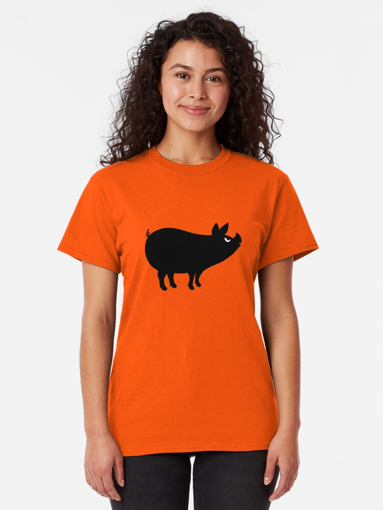 Alternate view of Angry Animals: Piggy Classic T-Shirt