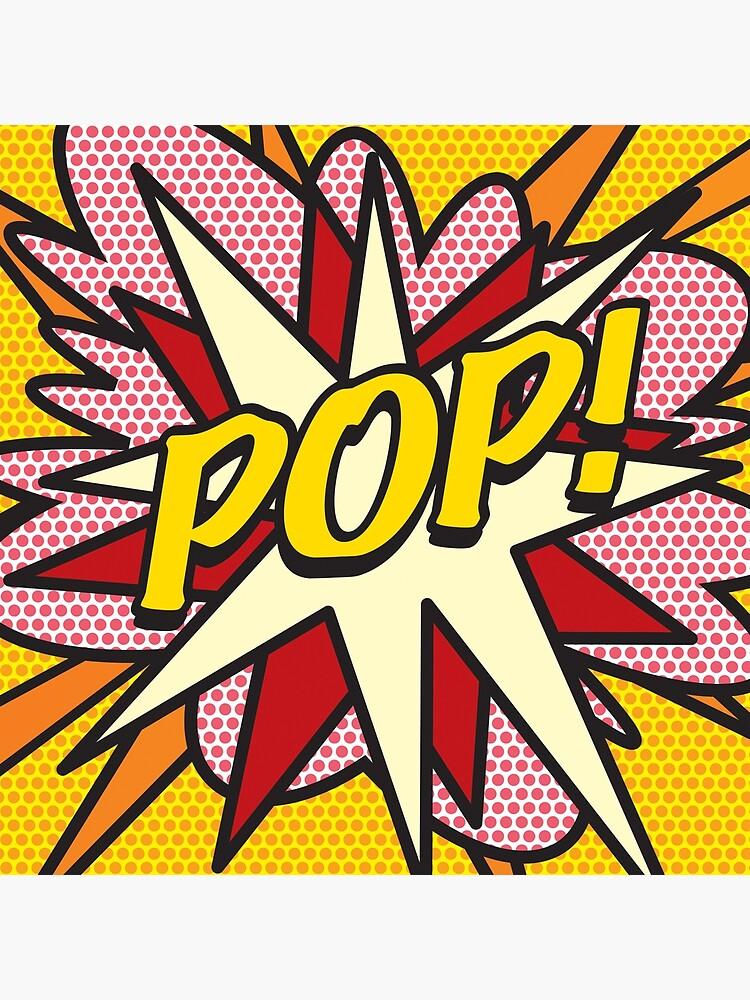 POP Comic Book Pop Art Cool Retro Trendy by theimagezone