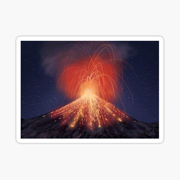 Anak Krakatau  Sticker