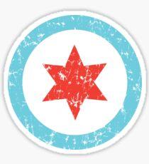 Chicago Insignia Sticker