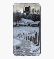 Bavarian Farm in Winter Case/Skin for Samsung Galaxy