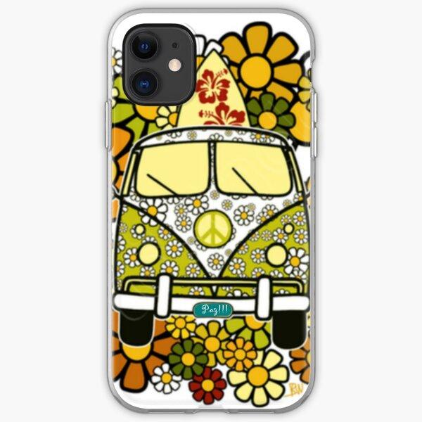 Camioneta hippie iPhone Soft Case