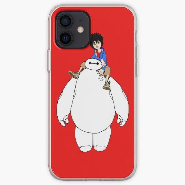 Big Hero Six, Beimax and Hiro iPhone Soft Case