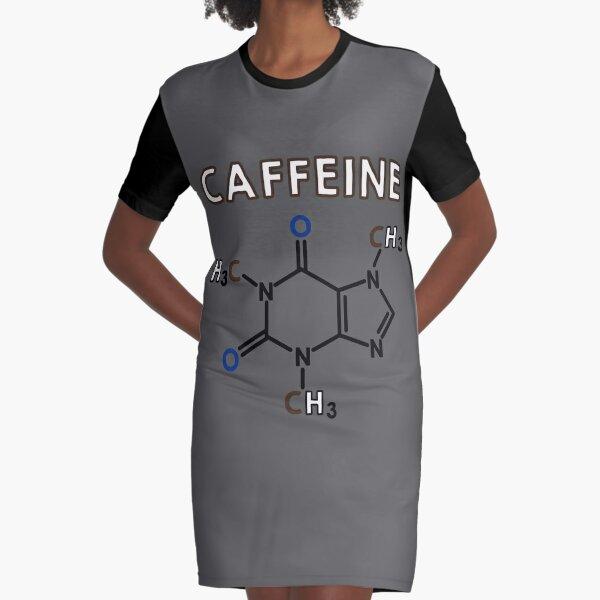 Cafeina Vestido camiseta
