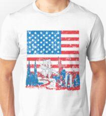 america motiv Unisex T-Shirt