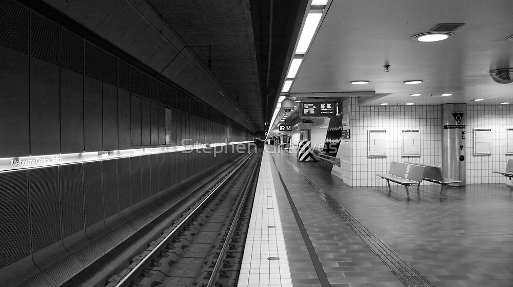 Empty Platform by Stephen Greaves